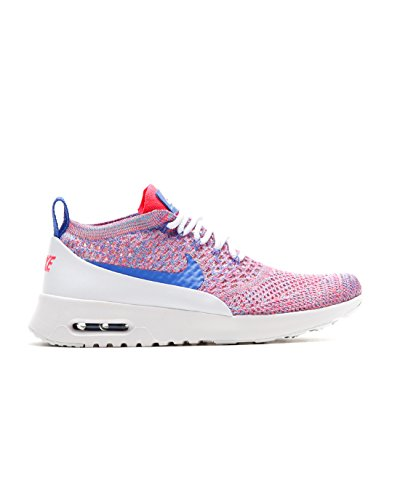 cheap for discount 3b9e8 4f462 Galleon - Nike Women s WMNS Air Max Thea Ultra FK, White Medium Blue-Racer  Pink, 8 US