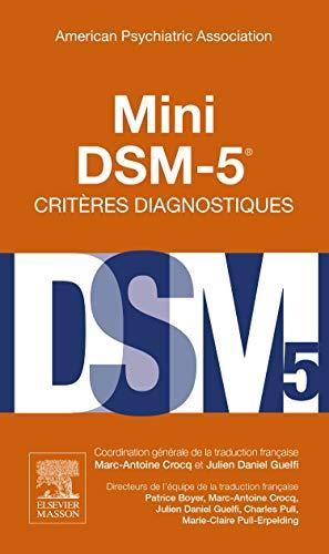 mini dsm 5 critères diagnostiques french edition