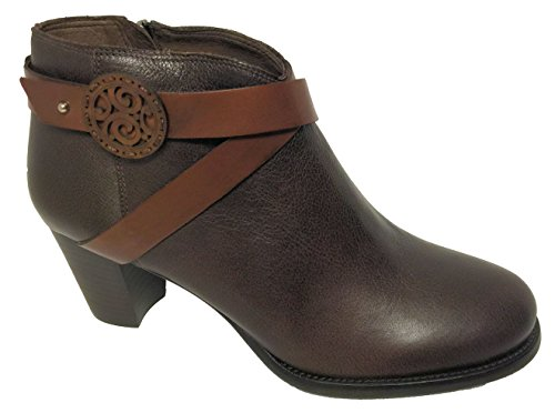 Brighton Gaucho Boots, Chocolate, Sz 10M