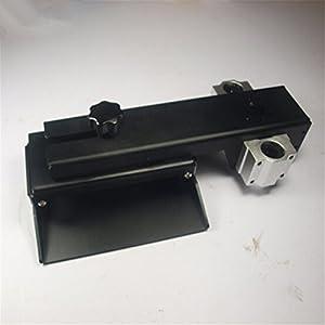 HEASEN Z axis Build Plate for DLP SLA 3D Printer Parts DIY Form Z axis Aluminum Build Platform kit Black Anodized from HEASEN