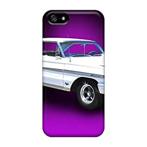 Durable Defender Case For Iphone 5/5s Tpu Cover(ford Galaxie)