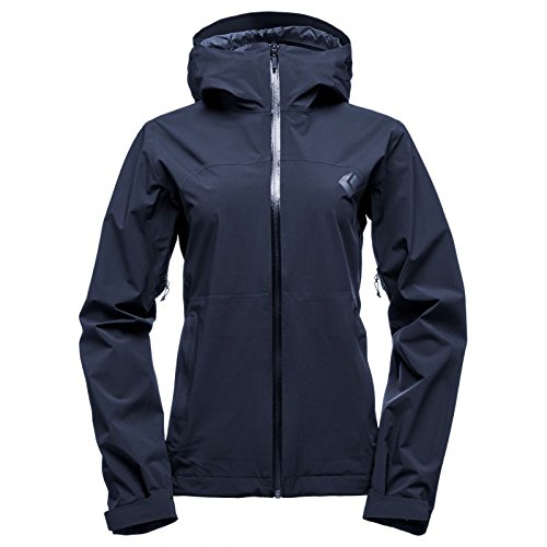Black Diamond Stormline Stretch Rain Shell Jacket - Women's Captain Medium