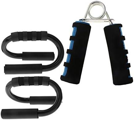T TOOYFUL Paar pushup trainingsstandaard met handonderarm krachttrainer grijper