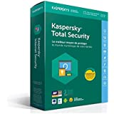 Kaspersky Total Security 2018 | 5 Postes | 1 An | PC/Mac/Android/iOS | Téléchargement