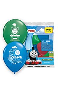 """Pioneer National Latex Thomas and Friends 6 Count 12"""" Latex Balloons, Assorted"""
