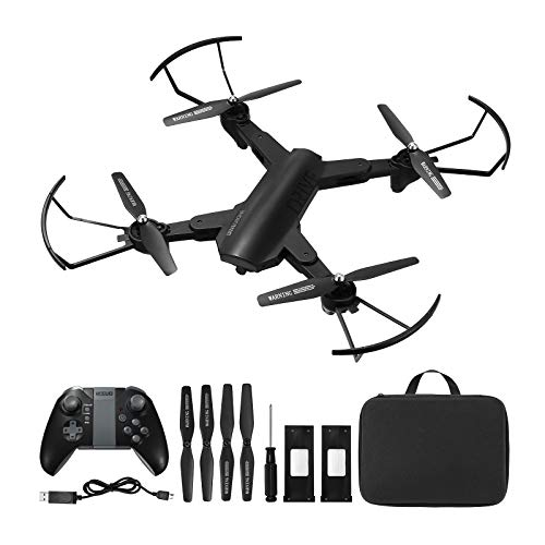 Powerextra WIFI Connection 720P HD Drone with Camera,Wifi Connection,2.4Ghz Remote Control Drone,Headless Mode,Ultra…