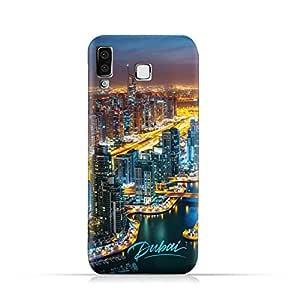 AMC Design Samsung Galaxy A8 Star / A9 Star TPU Silicone Protective Case with Dubai Marina Pattern