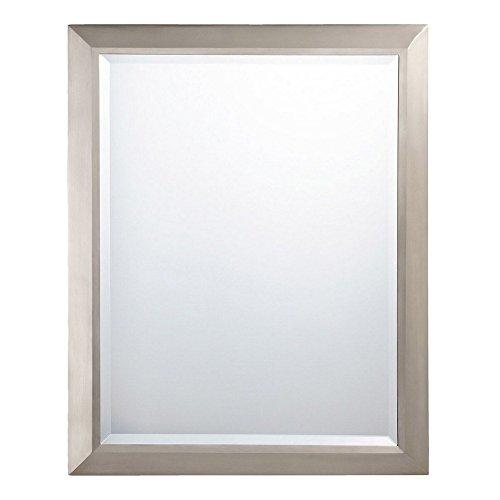 - KICHLER 41011NI Signature Mirror in Brushed Nickel