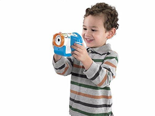 Fisher-Price Câmera Video Filmadora Kid-Touch AZUL
