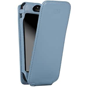 Sena Cases Magnet Flipper for iPhone 5 - Retail Packaging - Baby Blue