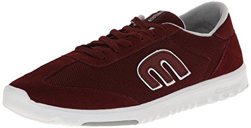 Etnies LO-CUT SC - Zapatillas de skateboarding de cuero para hombre, color rojo, talla 41