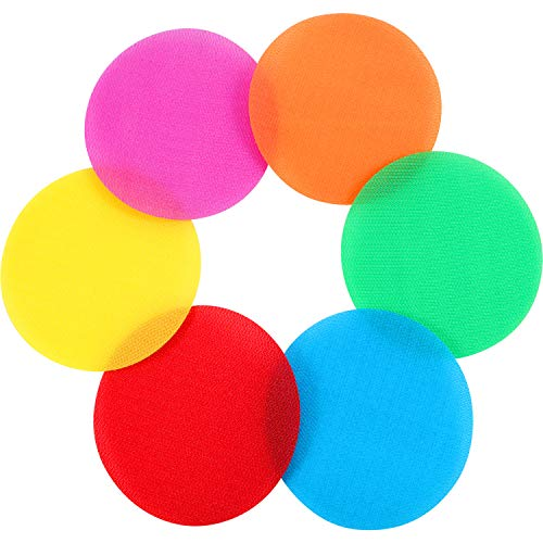 Gejoy Spot Markers Floor Spots Circles Sitting Dots for Classroom Preschool and Kindergarten (48 Pieces)