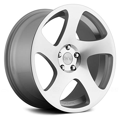 (Rotiform TMB 18 Silver Wheel / Rim 5x112 with a 45mm Offset and a 66.5 Hub Bore. Partnumber R130188543+45R)