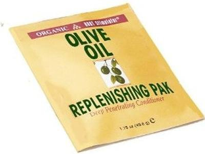 Ors Olive Oil Replenishing Pak Deep Penetrating Conditioner 51.7 ml (Pack of 3) by Organic Root Stimulator