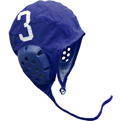 MAO Products Individual Water Polo Cap with Numbers - Blue Home 3