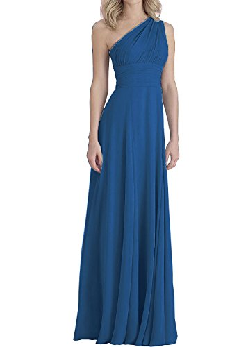 Long Blue Women's Formal Evening Empire DYS Bridesmaid Dress Convertible Dresses wgPqzqX