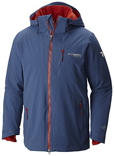 Columbia Mens CSC Mogul Jacket, Night Tide, - Columbia Mens Jacket Titanium