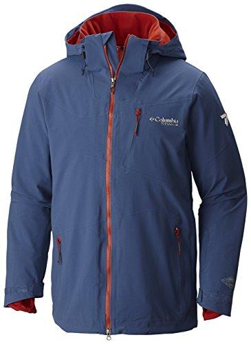 Columbia Mens CSC Mogul Jacket, Night Tide, S