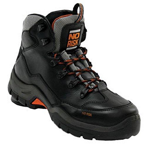 No Risk nr188–40Hillary–Botas de seguridad, talla 40, color negro (Pack de 2)