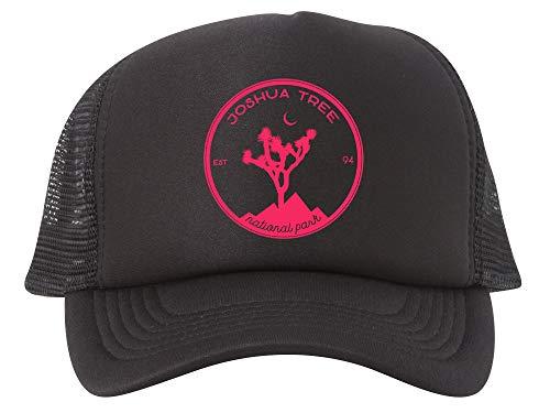 Gravity Outdoor Co. Joshua Tree Adjustable Mesh Trucker Hat - Red - ()
