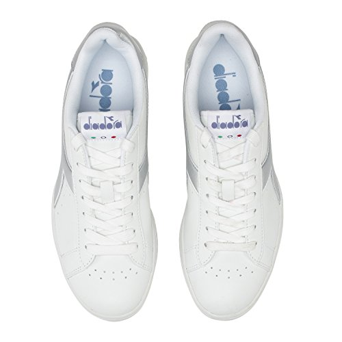 Diadora Baskets Game Wide L Pour Femme 20006 - BLANC