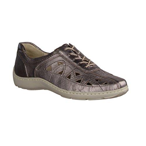 à Bronze Lacets pour Chaussures Femme de Ville Waldläufer wq8747