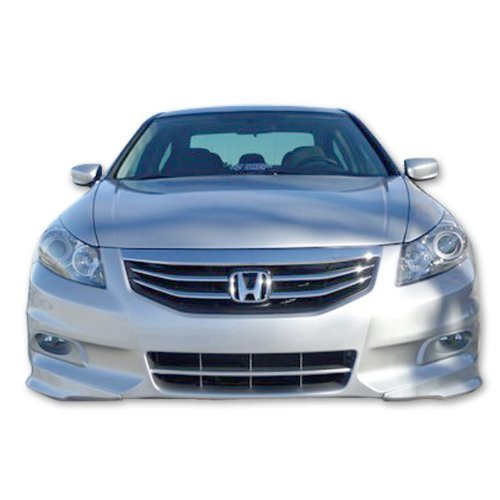 11-12 Honda Accord 4Dr OE Style Polypropylene Front Bumper Lip Spoiler Splitter