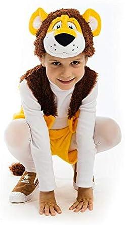 Amazon.com: 5 OReet - Disfraz de león de peluche para niños ...
