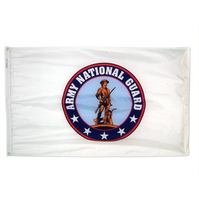 Annin Flagmakers Nyl-Glo Army National Guard Traditional Flag