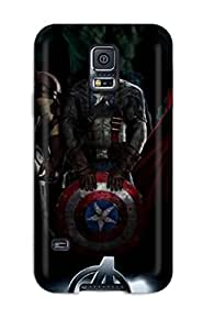 Galaxy Case - Tpu Case Protective For Galaxy S5- The Avengers 67