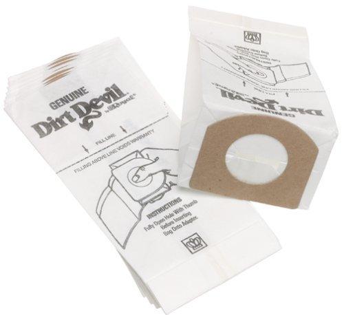Dirt Devil Type G Handheld Vacuum Bags (6-Pack), 3010347001