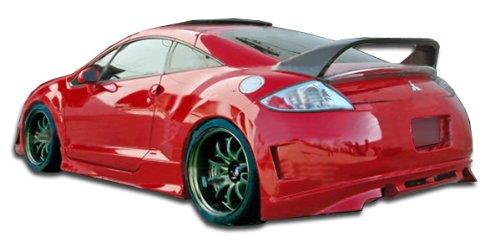 (Duraflex ED-ORW-680 Eternity Rear Bumper Cover - 1 Piece Body Kit - Compatible For Mitsubishi Eclipse 2006-2012)