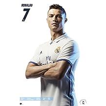"Real Madrid Poster - Cristiano Ronaldo [Season 2016/17] (24""x36"")"