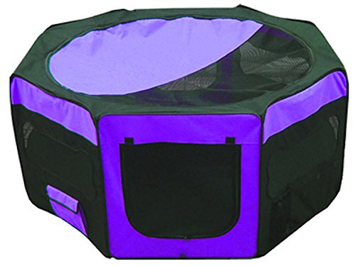 Iconic Pet Portable Pet Soft Play Pen, Purple, Small by Iconic Pet (Image #10)
