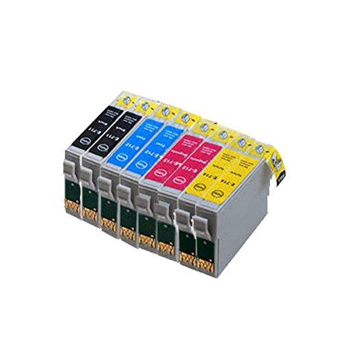 8 ECS – Cartuchos de tinta compatibles T0715 para impresoras Epson ...
