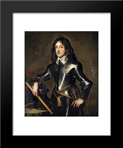 Portrait of Prince Charles Louis, Elector Palatine 20x24 Framed Art Print by Anthony van Dyck