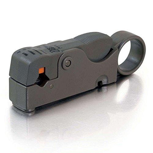 Strip Rg6 Quad Shield (C2G/Cables to Go 04627 Dual Blade RG58/RG59/RG62/RG6/RG6QS Stripper)