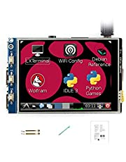 Waveshare 3.2 Inch Touch Screen 320x240 Resolution TFT LCD (B) Directly-pluggable for All Raspberry Pi/Raspberry Pi 4 Drivers provided Supports FBCP software driver