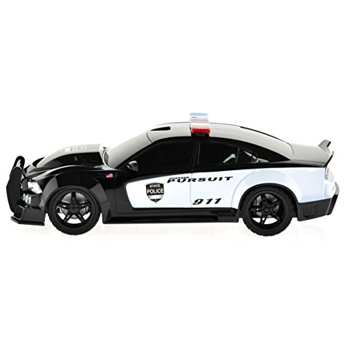 1/18 Scale Dodge Charger Pursuit Police Car Radio Remote