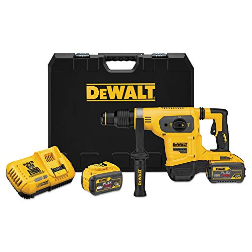 Dewalt DCH481X2R 60V MAX FlexVolt 1-9/16 in. SDS-Max Combination Hammer Kit (Renewed)