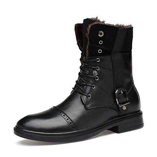 la la givr¨¦e augmenter d'hiver l'engrais ainsi pour Bottes de tendance jeunesse de hommes la 45 pour taille black de que pour chaussures coton Iqn7g7w4
