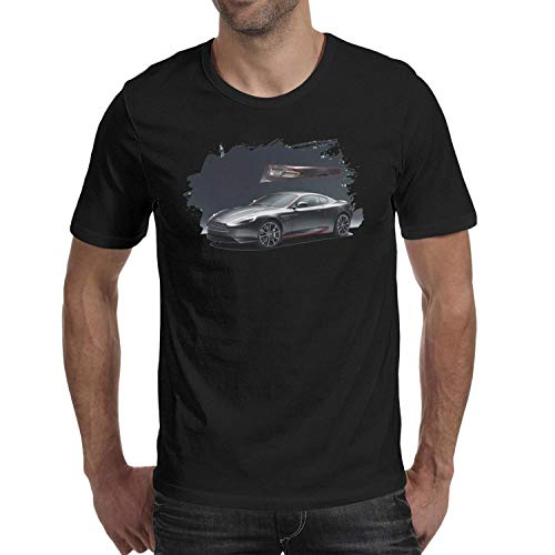 SMHNG A-ston-M-artin-DB9- Printed Men's Mens T Shirt Vintage Breathable 100% Cotton Tees -