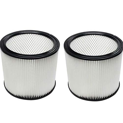 ANBOO Filter Replacement for Shop VAC 90304 Vacuum Cleaner Attachment Cartridge Filter Fit 5 Gallon and Larger Compatible for Shop VAC We & Dry Vaccuum Accessories Filter 2 Pack by ANBOO (Image #1)