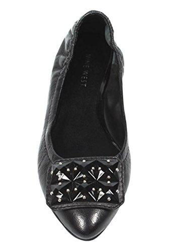 NINE WEST - Zapatos Bailarina Para Mujer NWDAGNER BLACK Tacón: 1.5 cm