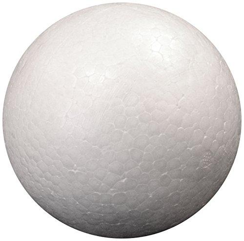Darice 01311 1-Piece Dura Foam Ball for Craftwork, 4.5-Inch