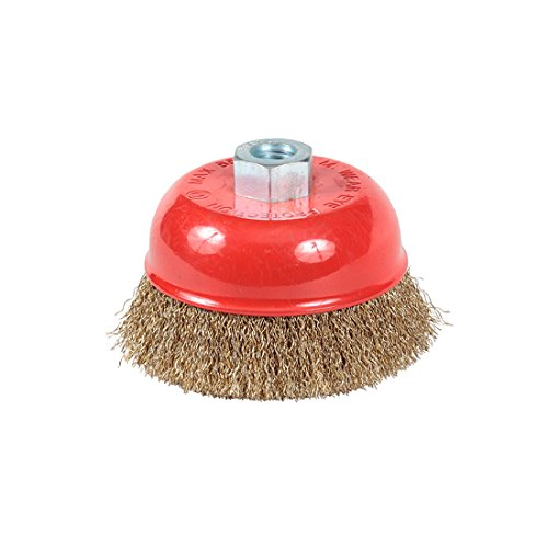Taipan Abrasives TO-3024  Original Crimped Brass Wire Cup Brush, 0.020