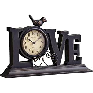 Better Homes And Gardens Love Mantle Clock