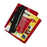 3-Hole Laser Printer Hanging Expandable Binder, 8-1/2 x 11, Red, Total 12 EA, Sold as 1 Carton