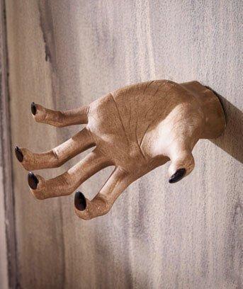 amazon com ceramic halloween party grabbing hand wall decoration