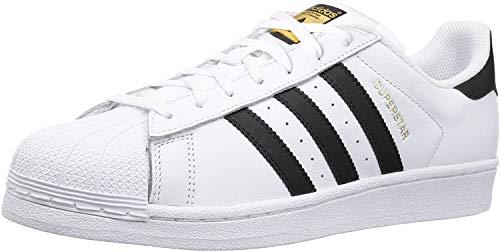 adidas Originals Kids' Superstar, White/Black/White, 6 M US Big Kid (Shoes Adidas Junior)